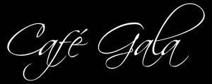 Cafe Gala white w black bckgrd