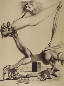 Dali_Study for 'Premonition of the Civil War'_web