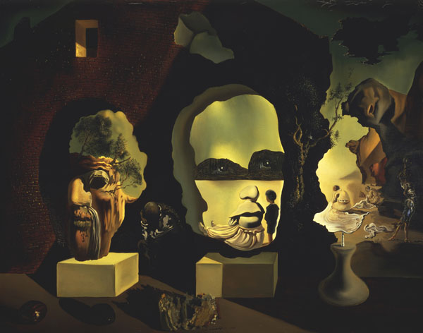 old age adolescence and infancy the three ages unparalleled collection of salvador dali. Black Bedroom Furniture Sets. Home Design Ideas