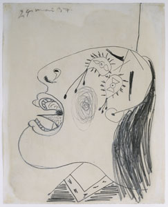 Picasso_Study for Weeping Head_web