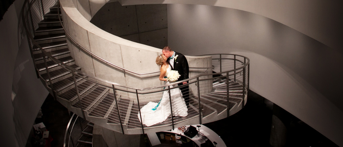 The Helical Staircase is a great place to capture that unforgettable moment