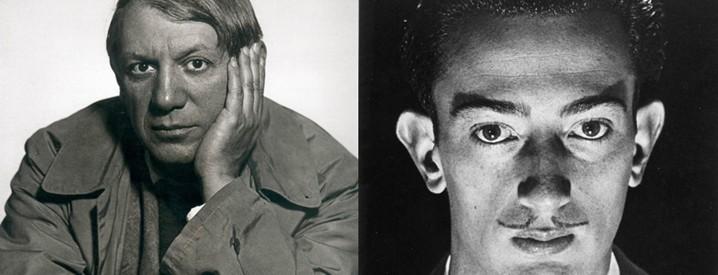 Picasso and Dali