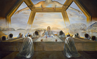 Salvador Dalí -The Sacrament of the Last Supper-small