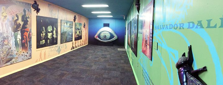 Interior Exhibit: Inspired by Dreams, Math and Science