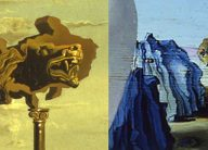 details of two dali paintings