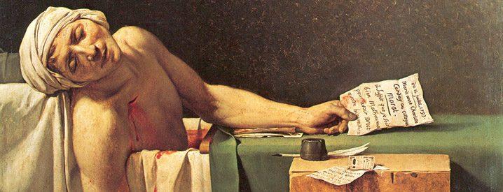Detail of David's painting