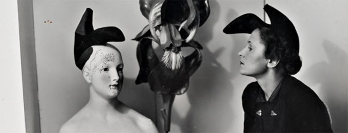 Gala Dali wearing The Shoe Hat