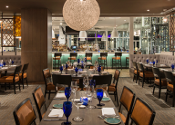 A nice restaurant interior