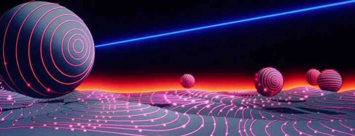 Scene from the film Tron