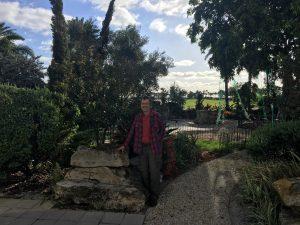 ken ford in the garden