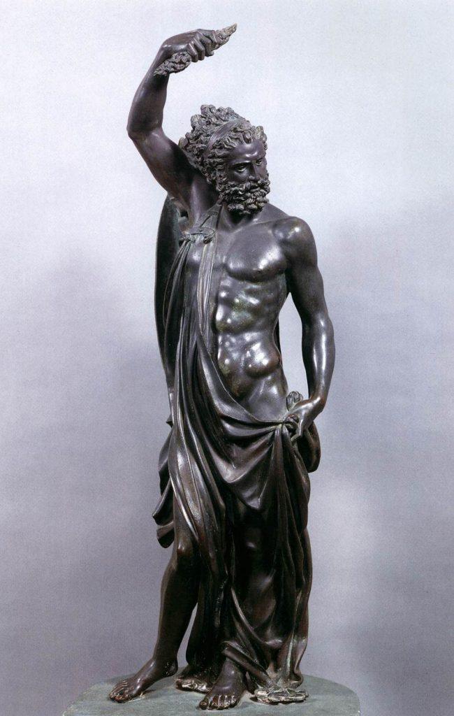 Cellini Jupiter Sculpture