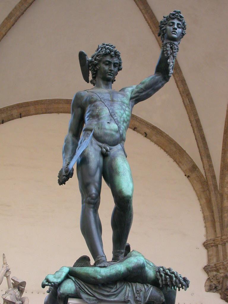 Cellini's Perseus Sculpture
