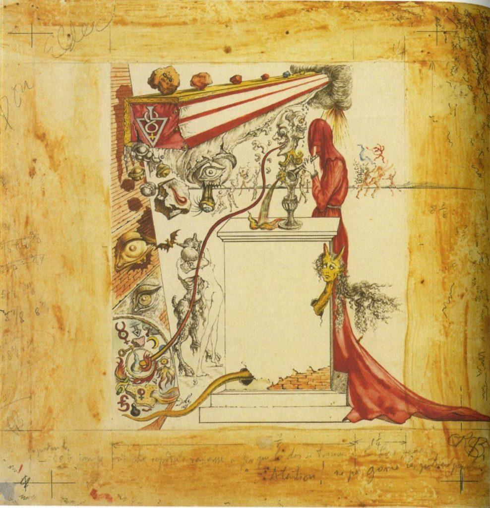 Original Dali Illustration