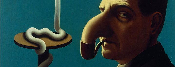 Rene Magritte, La Lampe philosophique