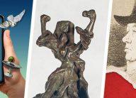 Masterworks in AR, Bronzes from the Vault, Before Dali: Goya logos