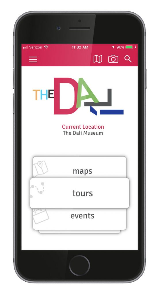 You can also buy tickets and find visitor information on The Dalí Museum App