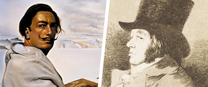 Salvador Dali and Goya