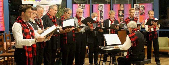 Bay Voices Men's Chorus Performing