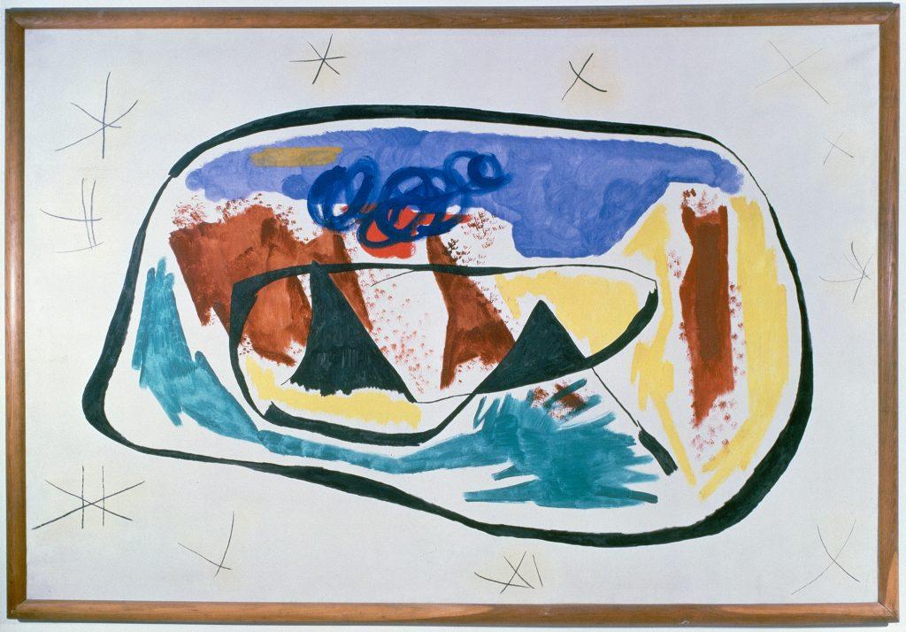 Joan Miro's Painting