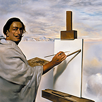 Dali self portrait