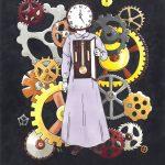 Grandmother Clock by Anna Babbitt