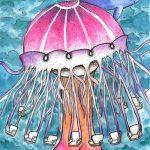 Scyphozoa Swing by Danielle O'Neill