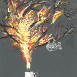 The Burning Koala by Emily Reed