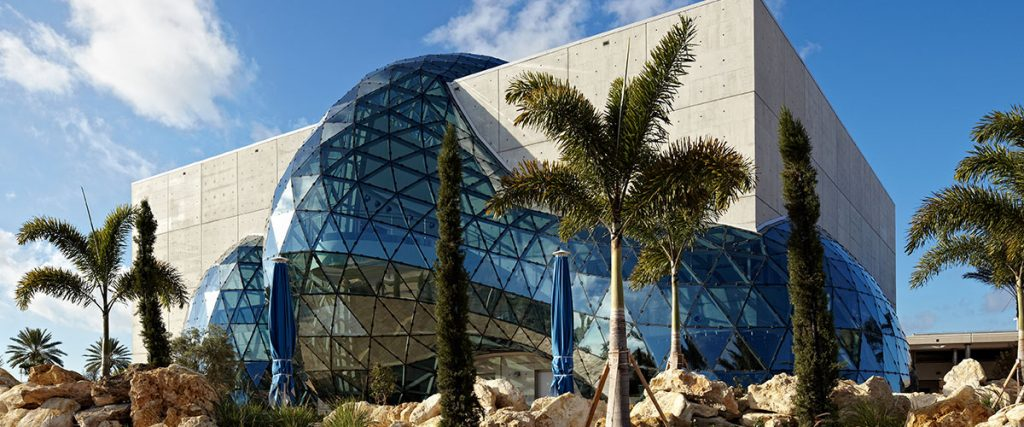 Dali Museum daytime building exterior