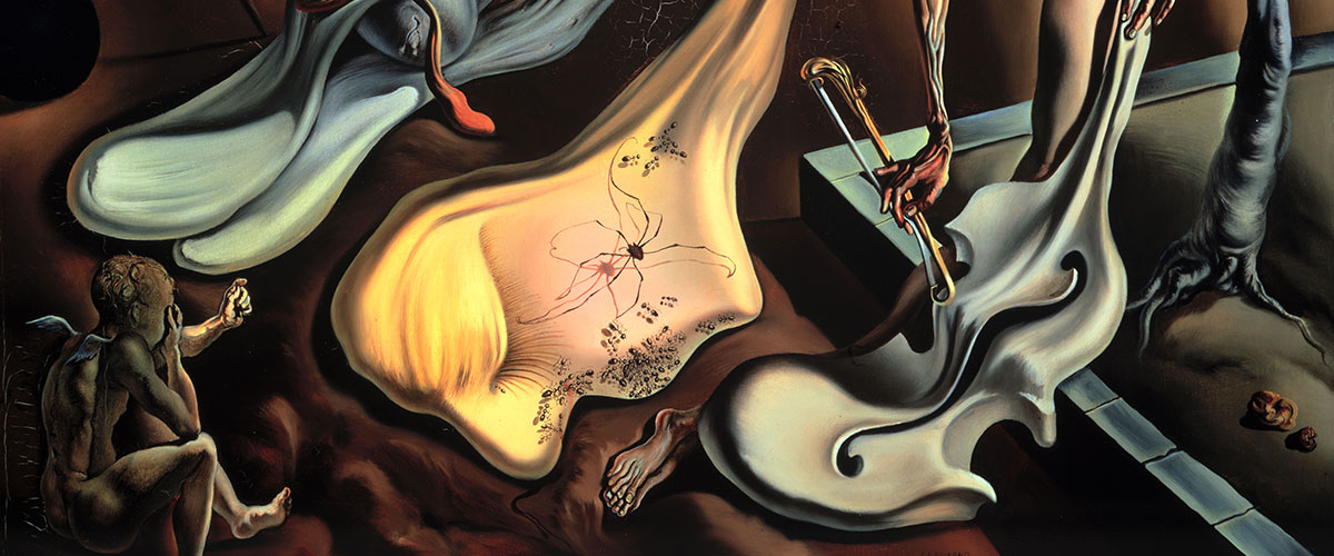 "Detail from Salvador Dali's ""Daddy Longlegs of the Evening-Hope!"""
