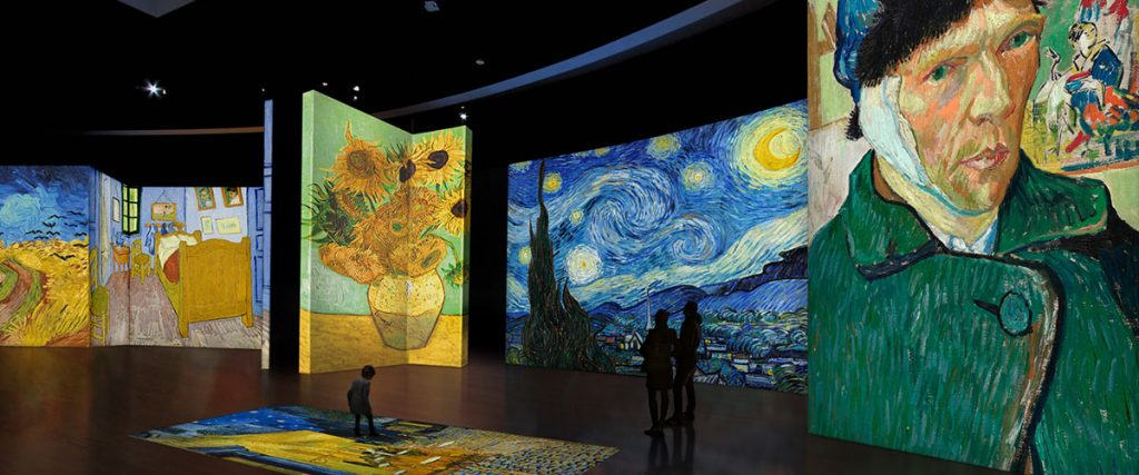 Van Gogh Alive, The Experience