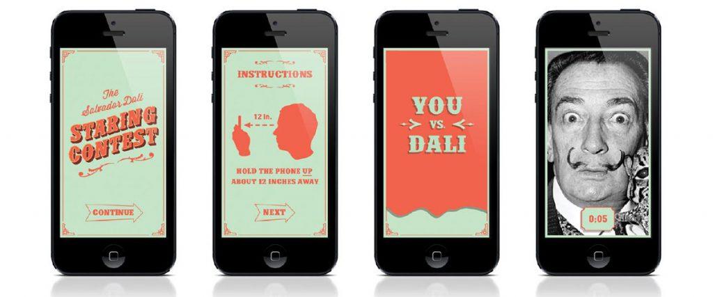 Dali Museum Staring Contest App