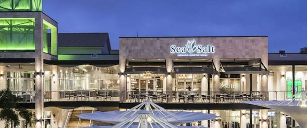 Nighttime Exterior, Sea Salt Restaurant