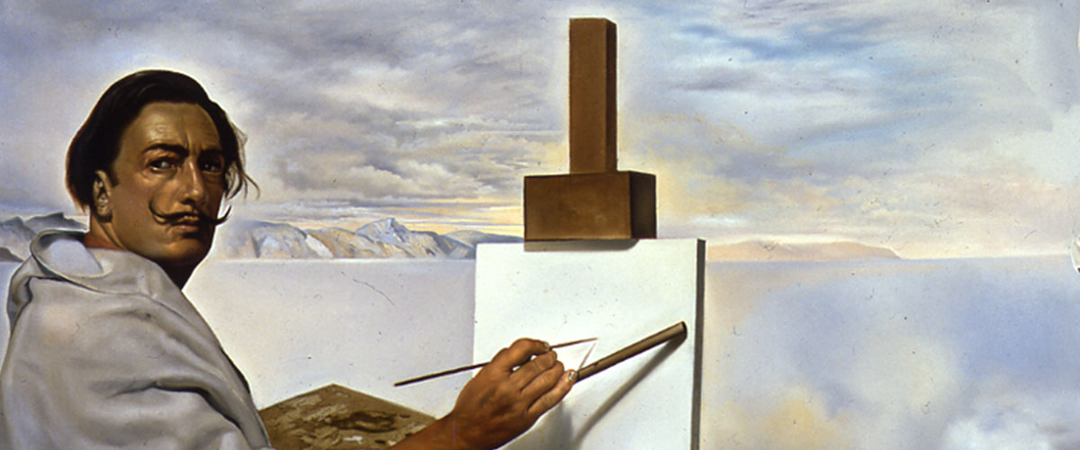Detail from Salvador Dali's painting, Ecumenical Council