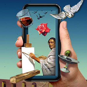 Dali's Masterworks in Augmented Reality