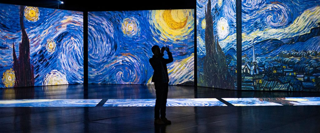 Van Gogh Alive - Starry Night