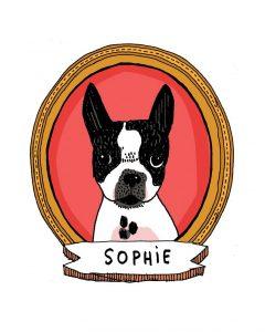 Dali Dozen's Alli Arnold's work entitled Sophie