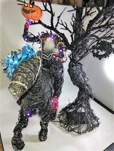 Dali Dozen's Brandy Starks work entitled Headless horseman