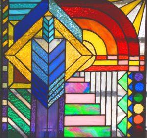 Dali Dozen's Michael Baker's work entitled Cityscape