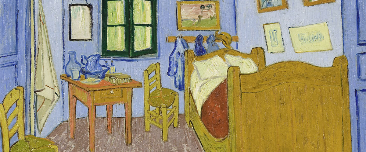 Van Gogh's Painting, The Bedroom in Arles