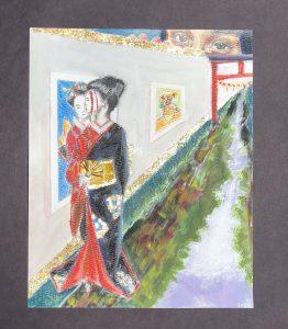 The Dali Museum's 2021 Student Surrealist Exhibit Online: Pinellas, Artwork by Britney Meza Seeing, Yet Not Knowing Boca Ciega High Teacher: Mark Villinger Grade 10