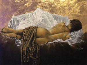 Dali Dozen's Eric Wilson's work entitled Reclining Nude
