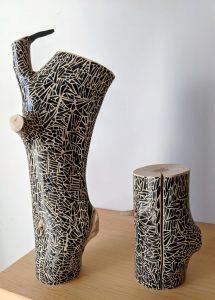 Dali Dozen's Jeff Romano's work entitled Tree bones #109