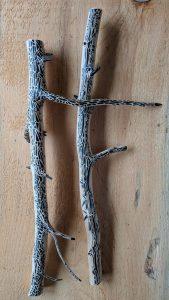 Dali Dozen's Jeff Romano's work entitled tree bones #7