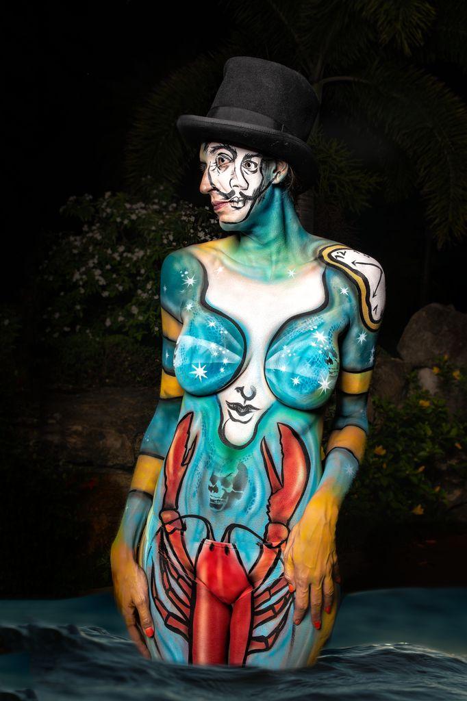 Dali Dozen's Nicole Hays' work Dreams of Dali
