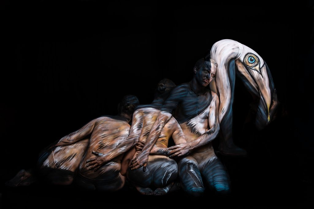 Dali Dozen's Nicole Hays' work The Pelican