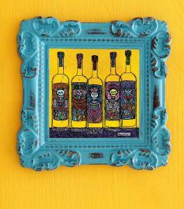Dali Dozen's Pamela Trow's work entitled Dying for Tequila