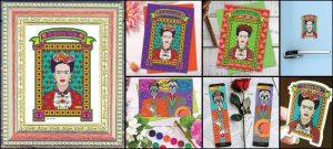 Dali Dozen's Pamela Trow's work entitled Frida