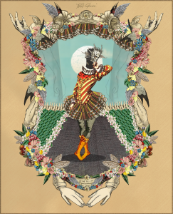 The Dali Museum's 2021 Student Surrealist Exhibit Online: Pinellas, Artwork by Camila Diaz First Glance Palm Harbor University High Teacher: Wipoj Huse Grade 12