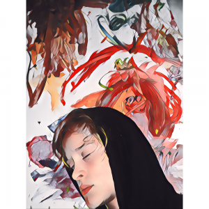 The Dali Museum's 2021 Student Surrealist Exhibit Online: Pinellas, Artwork by Aiden Donald Shattered Dreams Sanderlin PK-8 Teacher: Tina Clark Grade 7
