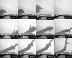 The Dali Museum's 2021 Student Surrealist Exhibit Online: Pinellas, Artwork by Emma Harrison Ghost Notes Gibbs High Teacher: Steve Beverage Grade 12